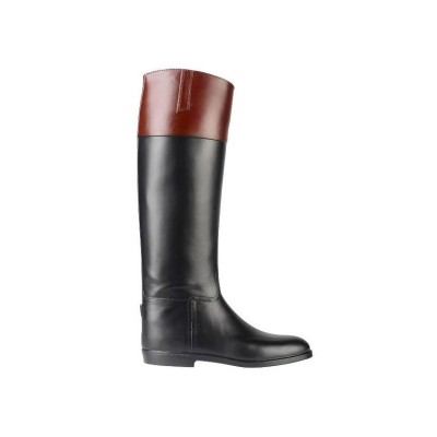Aigle All Rubber Jumping Boots with Leather Top