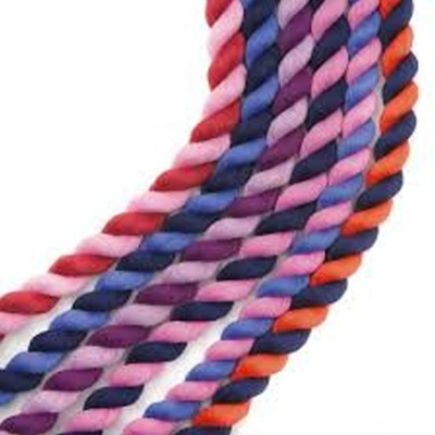 Cotton Lead Ropes - Two Tone and Plain