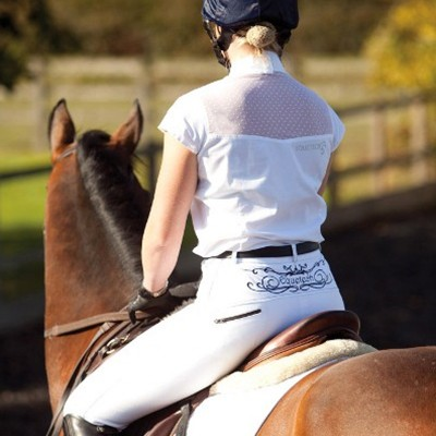 Equetech Close Contact EMBROIDERED Breeches