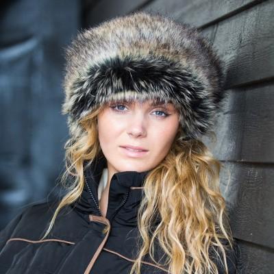 Equetech Faux Fur Muffle Headband