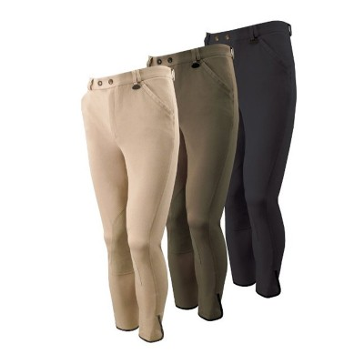 Equetech Men's Supreme Flat-Fronted Breeches