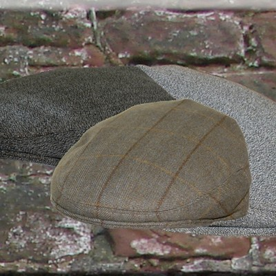 Mears Co-ordinating Tweed Caps