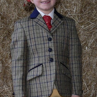 Mears Made to Order Mitton Hacking Jacket - Scottish Tweeds