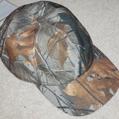 P J Powell's Camouflage Cap