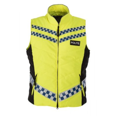 POLITE Quilted Gilet front