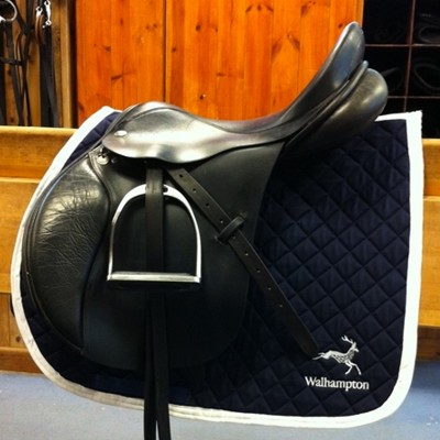 Tantivvy Embroidered Quilted Saddle Cloths