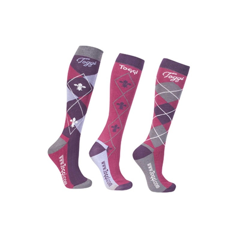 Toggi Ladies 'eco' Chestermere Socks - pack of 3